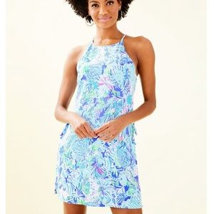 NWT Lilly Pulitzer PEARL ROMPER lion around